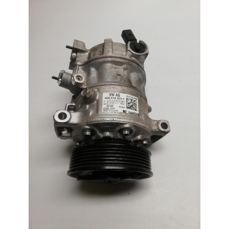 SPRĘŻARKA KLIMATYZACJI VW AUDI 5Q0816803F