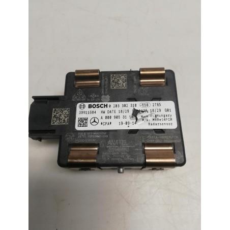 RADAR SENSOR DISTRONIC MERCEDES A0009053111